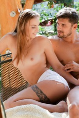 Hot Sex In The Garden 01